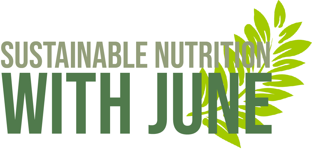 Sustainable Nutrition With June