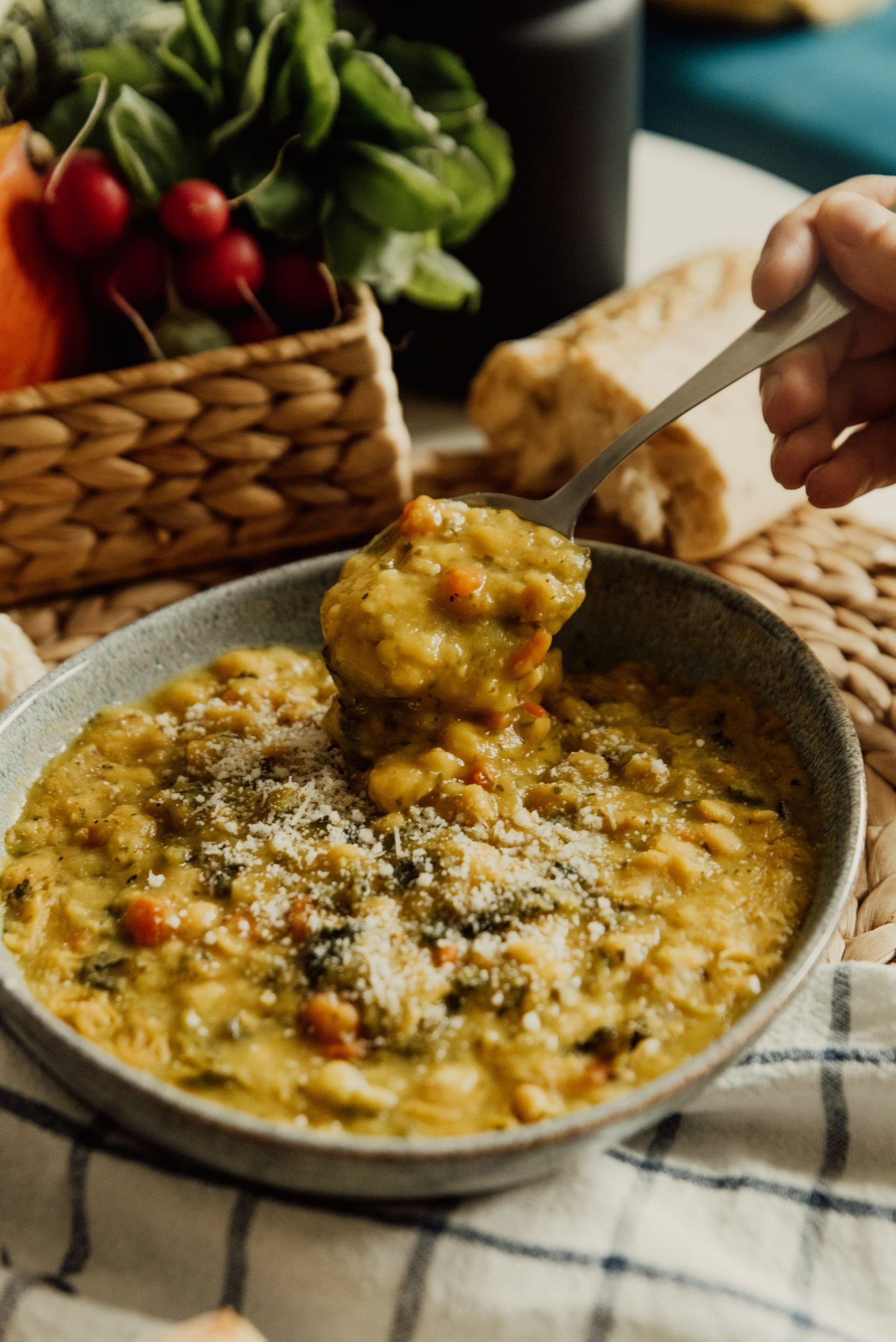 Easy One Pot Lentil Curry Recipe